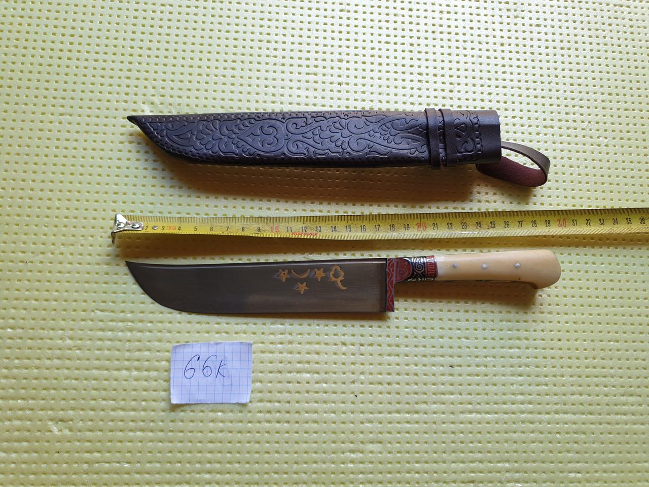 Ніж узбецький. Пчак узбецький. Традиційні узбецькі ножі Пчаки. Ніж ручної роботи.