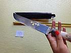 Нож. настоящий узбекский нож. Шикарный подарок мужчине. Нож пчак ручной работы., фото 5