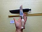 Нож. настоящий узбекский нож. Шикарный подарок мужчине. Нож пчак ручной работы., фото 3