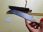 Нож узбекский. Пчак большой. Ручная работа. Рукоять рог., фото 8