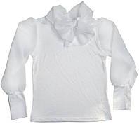 """Блуза для девочки  """"Шифоновый бант"""""""
