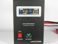 ИБП LogicPower LPY-B-PSW-800VA+ (560Вт) 5A/15A с правильной синусоидой