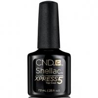 CND Shellac Xpress 5 Top Coat, Закрепитель 7,3 мл