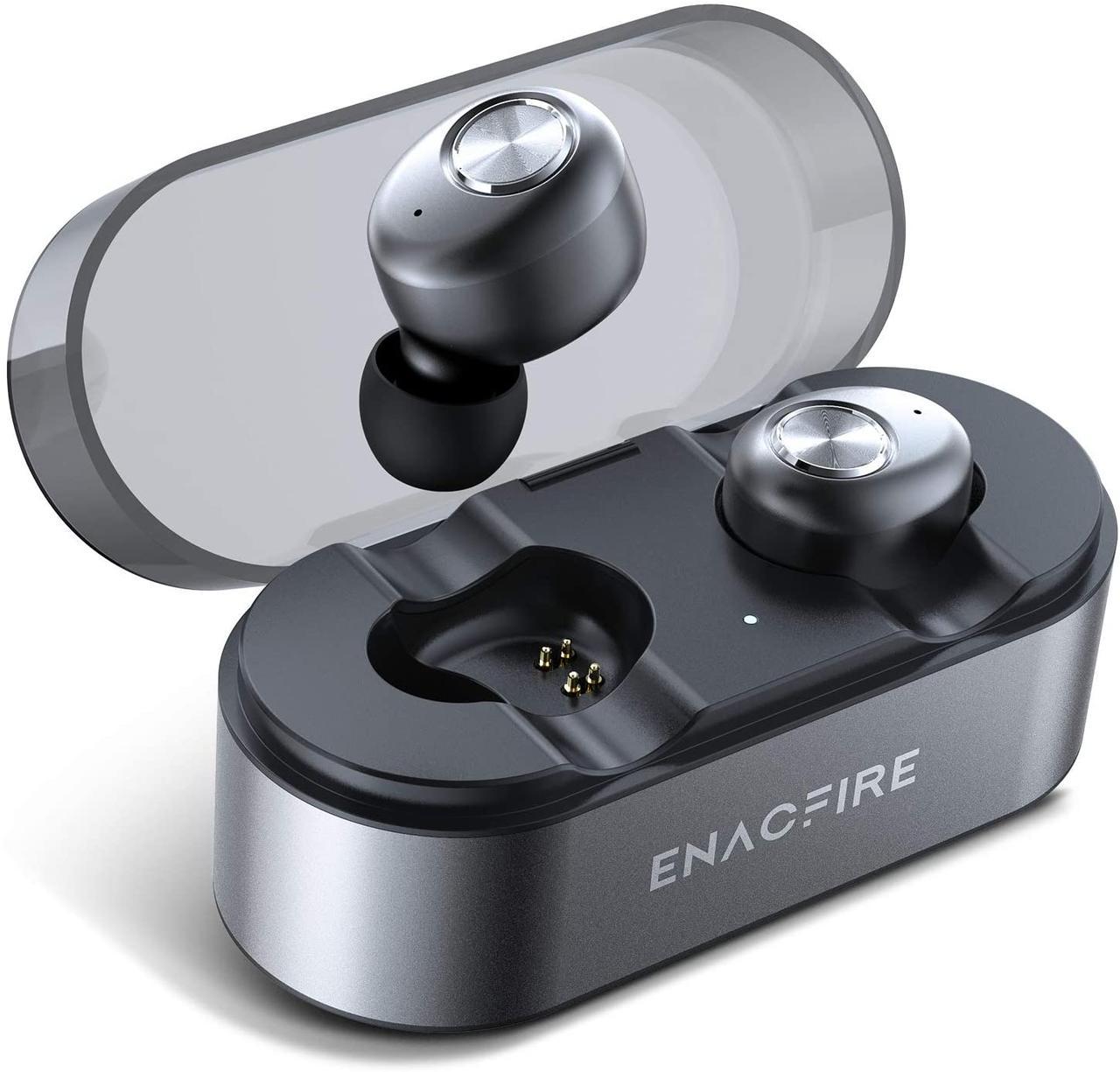 Enacfire E18 Pro Bluetooth 5.0 Бездротові навушники з бездротовим чохлом для зарядки 3D Стерео звук