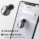 Enacfire E18 Pro Bluetooth 5.0 Бездротові навушники з бездротовим чохлом для зарядки 3D Стерео звук, фото 3
