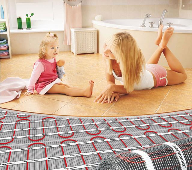 Установка монтаж теплої підлоги в Дніпродзержинську