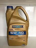 Моторное масло синтетическое 5W-40 VDL 4л. Пр-во Ravenol