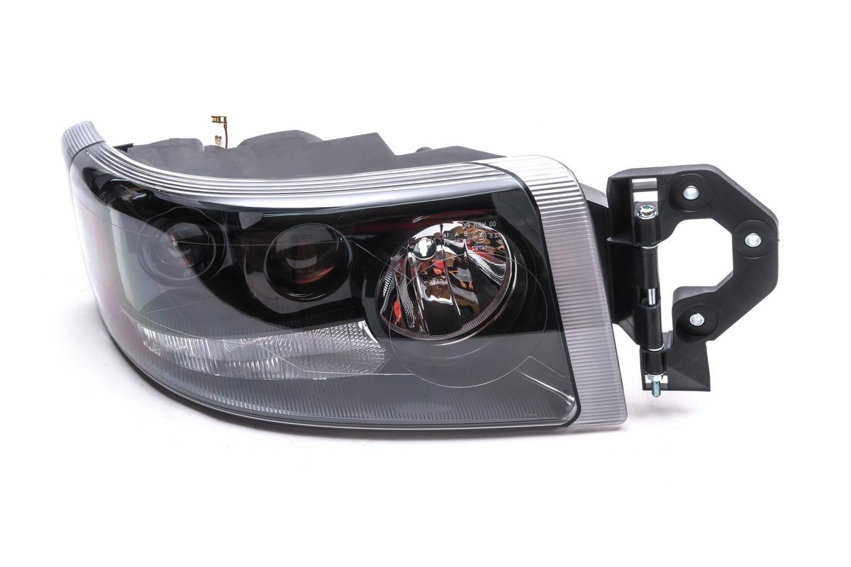 Фара Renault Premium 2007 - 2014 чорний рефлектор права
