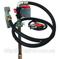 Насос для перекачування і заправки (роздавання) дизельного палива з бочки або бака PTP 12В, 40 л/хв