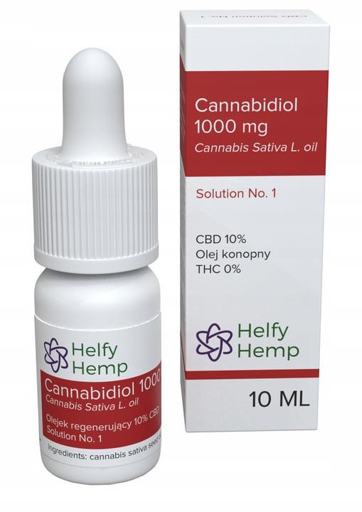 CBD масло Medic Helfy Hemp 10% 10 мл Польща