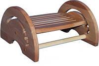Регулируемая деревянная подставка для ног