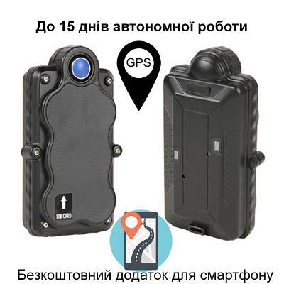 GPS трекер автомобильный на магните VJOYCAR TK05, с батареей 5000 мАч, до 15 дней работы (улучшенная версия)