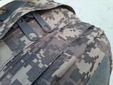 Тактический, походный рюкзак Military. 30 L. Серый пиксель, милитари., фото 4