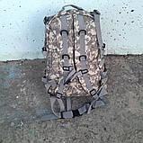 Тактический, походный рюкзак Military. 30 L. Серый пиксель, милитари., фото 5