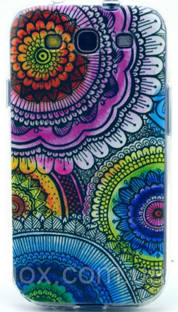 Силиконовый чехол цвет №21 для Samsung Galaxy S3 и S3 duos