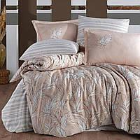 Сатиновое постельное белье Clasy Palmira, Евро, 200х220, 240х260, 50х70-4 шт