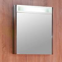 Зеркальный шкаф с подсветкой 60 см Буль-Буль Santorini Венге