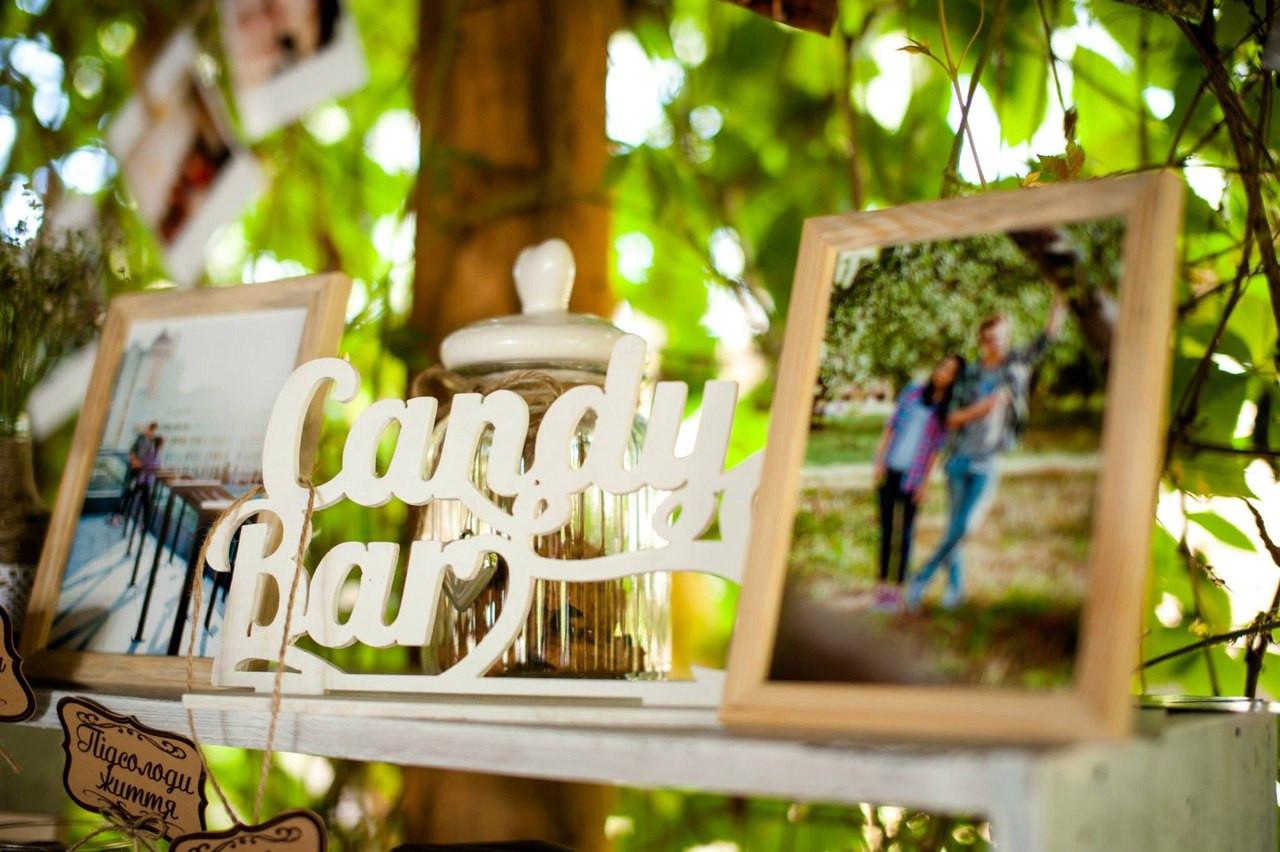 Свадебный Кенди бар Candy Bar стиль Прованс