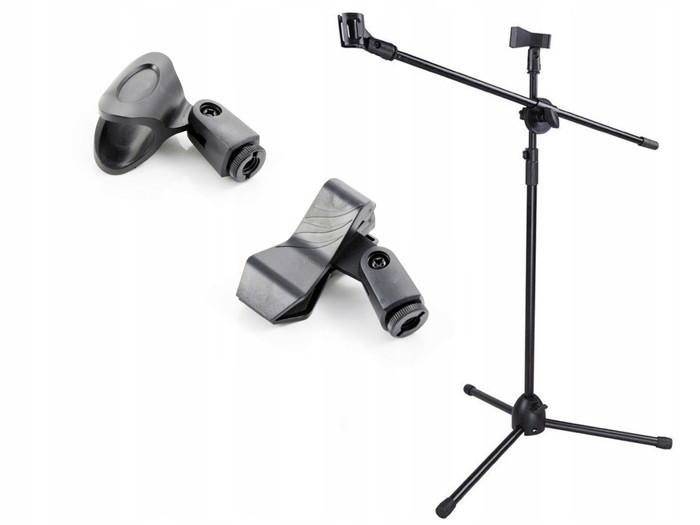 """Професійна мікрофонна стійка """" журавель BNK BK200 ( на 2 мікрофона)"""
