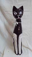 Статуэтка кошка деревянная высота 50см, фото 1
