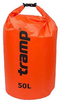 Гермомішок PVC Diamond Rip-Stop оранж. 50 л Tramp (TRA-208-orange)