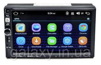 Автомагнитола 8702 Android 1/16 с камерой заднего вида GPS WI-FI