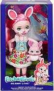 Велика лялька Энчантималс Брі Банні і зайчик Твіст Enchantimals Bree Bunny Doll 31 см ОРИГІНАЛ, фото 3