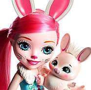 Велика лялька Энчантималс Брі Банні і зайчик Твіст Enchantimals Bree Bunny Doll 31 см ОРИГІНАЛ, фото 4