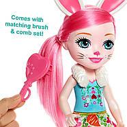 Велика лялька Энчантималс Брі Банні і зайчик Твіст Enchantimals Bree Bunny Doll 31 см ОРИГІНАЛ, фото 9
