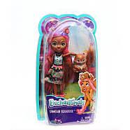 Кукла Энчантималс Белка Санча и бельченок Стампер Enchantimals Sancha Squirrel Doll & Stumper, фото 2
