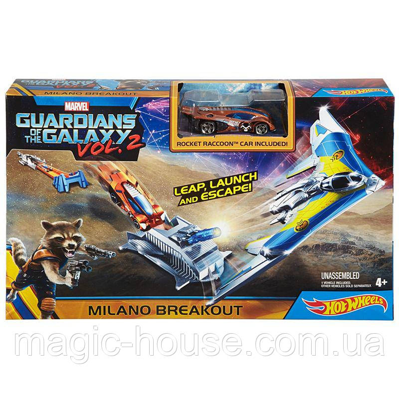 Трек Хот Вилс Стражи Галактики 2 Hot Wheels Marvel Guardians of the Galaxy 2