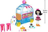 Игровой набор Enchantimals Фургончик мороженого Прины Пингвины, фото 7