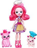 Лялька Энчантималс Петі Піг і друзі Стрейсел і Найша Випічка друзям Enchantimals Baking Buddies, фото 2