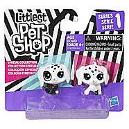Littlest Pet Shop Собачки Маленький зоомагазин Black & White Puppy BFFs, фото 2