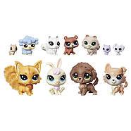 Littlest Pet Shop Маленький зоомагазин набор 11 зверюшек с котиком The Sweet Sort, фото 2