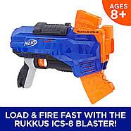 Бластер Нерф N-Strike Elite Rukkus ICS-8 NERF, фото 9