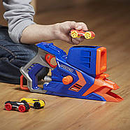 Бластер Nerf стреляющий машинками Nerf Nitro FlashFury Chaos, фото 3
