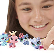 Колекційний набір Littlest Pet Shop Маленький зоомагазин 15 звірят Collector Party Pack, фото 6