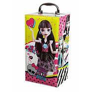 "Модный Кейс Monster High и кукла Дракулаура Fashion Doll Case "" Draculaura"", фото 2"