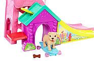Набор Barbie кукла Челси и собачка в скейт-парке, фото 3