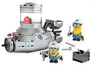 Конструктор Mega Bloks Подводная лодка миньонов Despicable Me Minion Mobile, фото 4