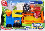 Музичний паровозик зоопарк Fisher Price Little People Choo-Choo Zoo Train, фото 2