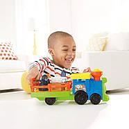 Музыкальный паровозик зоопарк Fisher Price Little People Choo-Choo Zoo Train, фото 6