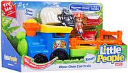 Музичний паровозик зоопарк Fisher Price Little People Choo-Choo Zoo Train, фото 8