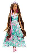 """Лялька Barbie Принцеса """"Чарівні волосся"""" Dreamtopia Color Stylin' Princess, фото 4"""
