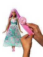 """Лялька Barbie Принцеса """"Чарівні волосся"""" Dreamtopia Color Stylin' Princess, фото 5"""