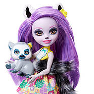 Кукла Энчантималси  Лариса Лемур и друг  Ринглет Mattel Enchantimals Larissa Lemur & Ringlet, фото 6