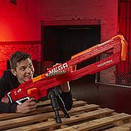 Бластер Нерф мега Тандерхок Комбат Thunderhawk Nerf AccuStrike Mega Toy Blaster E0403, фото 6