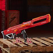 Бластер Нерф мега Тандерхок Комбат Thunderhawk Nerf AccuStrike Mega Toy Blaster E0403, фото 8