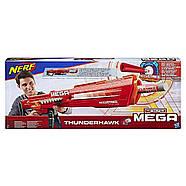 Бластер Нерф мега Тандерхок Комбат Thunderhawk Nerf AccuStrike Mega Toy Blaster E0403, фото 10